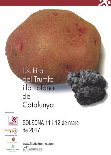 Programa de la Fira del Trumfo y la Tofona en Solsona