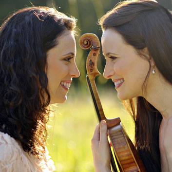 Musical sisters: Lea and Esther Birringer, violin and piano