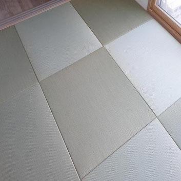 畳替え 琉球畳(縁無し畳)