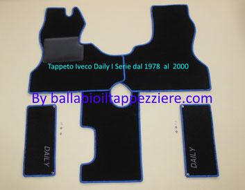 Tappeto Camper furgone Iveco Daily I Serie By ballabioiltappezziere.com