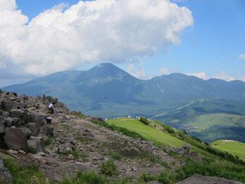 蓼科山と北八ヶ丘