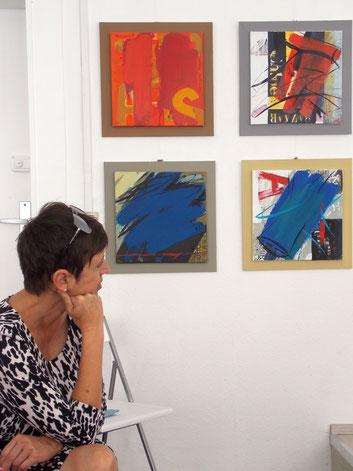 Ausstellung , GEDOK Heidelberg, GEDOK Galerie, Malerei Daniela Oravitanu