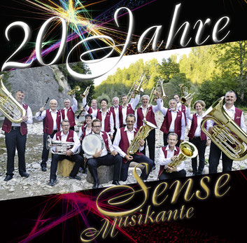 Die 1. CD der Sense Musikante!
