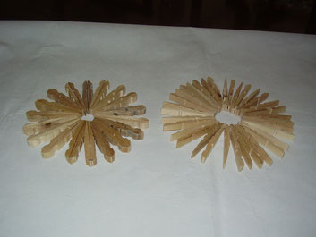 Salva manteles artesanal de madera
