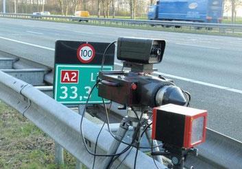 controle radar en hollande sur autoroute