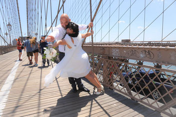Matrimonio New York USA Brooklyn Bridge Manhattan Passion