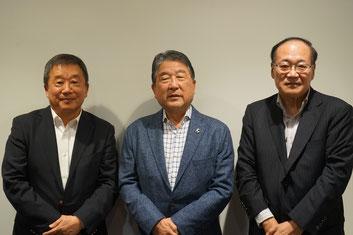 徳光さんと日本認知症予防学会の皆さん