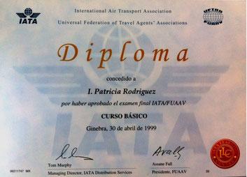 Certificado IATA