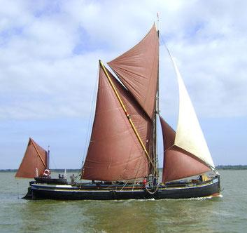 Thames sailing barge centaur