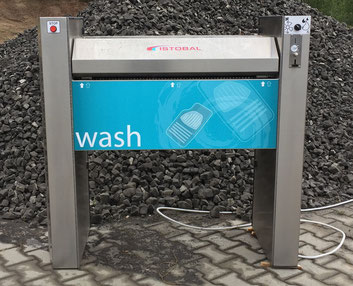 SB-Waschanlage - Zubehör Mattenwäscher.
