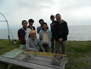 みんなでパッチッと!征太郎さんとみんなの笑顔サイコーです(^_^)/