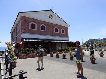 オープンしたばかりの薩摩藩英国留学生記念館へ