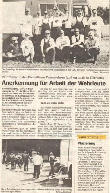 Jülicher Nachrichten vom 28.06.2001
