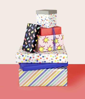 Papeterie Geschenkverpackungen