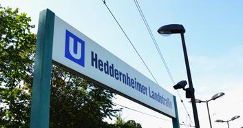 U-Bahn Station Heddernheimer Landstraße