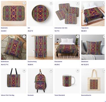 Lithoviso Design Products on Redbubble