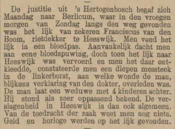 Provinciale Drentsche en Asser courant 24-08-1899