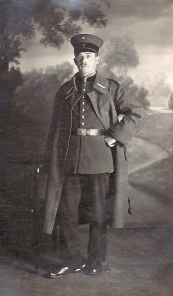 Hanns Heinen, 1918