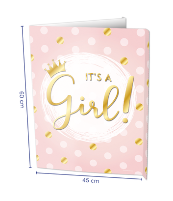 Raambord It's a girl! € 8,95