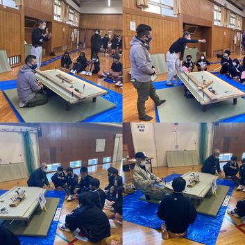 ものづくり魅力発進講座 横浜市立奈良中