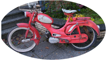 Rixe Moped vor Restauration
