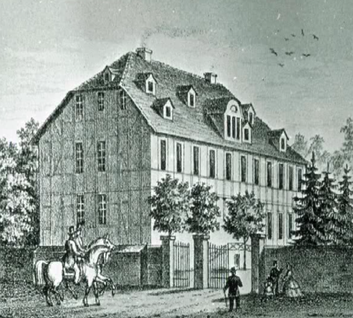 Das Gutshaus Elze der Familie Bock von Wülfingen im 19. Jahrhundert