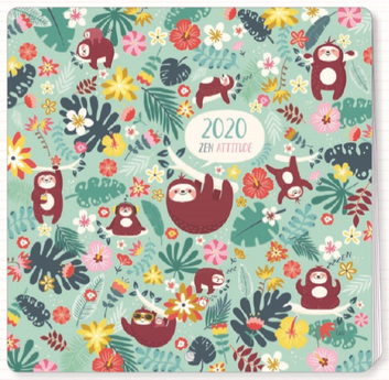 2020 calendar illustrated by Lali - 30 x 30 cm
