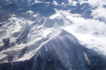 Magique survol de la Cordillère des Andes !