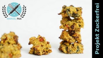 Superfood Cookies ohne Kristallzucker
