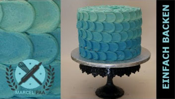 Ombre Buttercreme Torte