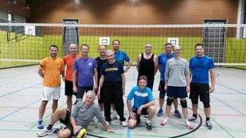 Gruppenfoto Volleyball Männer