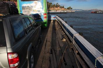 Roll On Roll Off auf Bolivianisch