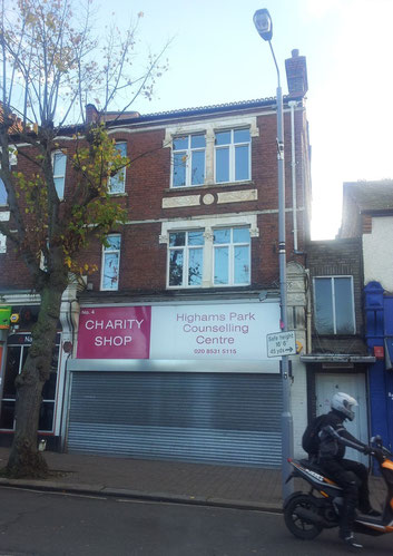 Geschlossener Charity-Shop in England