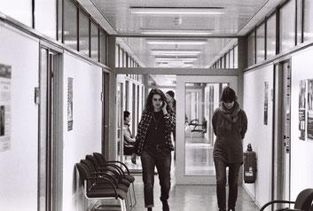 Samia Chancrin, Sherry Hormann bei den Dreharbeiten