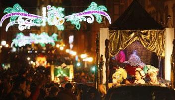 Fiestas en Ávila Cabalgata de Reyes
