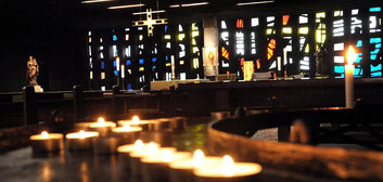 Die Liebfrauenkirche in der Stadtmitte war schon immer eine Oase der Ruhe. Nun sollen dort wieder regelmäßige Gottesdienste stattfinden. (RP-Foto: Archiv)