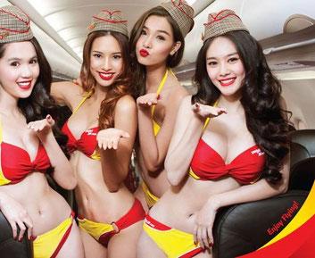 Vietjet's cabin crew