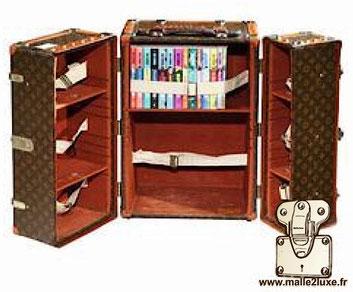 malle bibliothèque Louis Vuitton