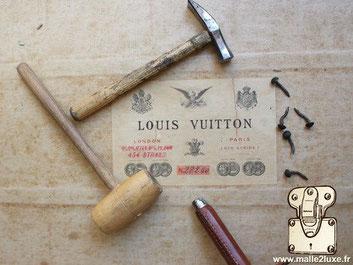 restoration of a legendary louis vuitton trunk