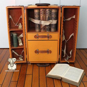 Malle pour machine a écrire Louis Vuitton
