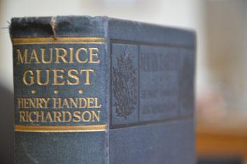 """hier """"Maurice Guest"""" in der Ausgabe von 1908"""