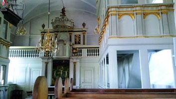 im Dom zu Skanderborg fällt endgülig die Entscheidung: auch diese Tour wird vorzeitig abgebrochen