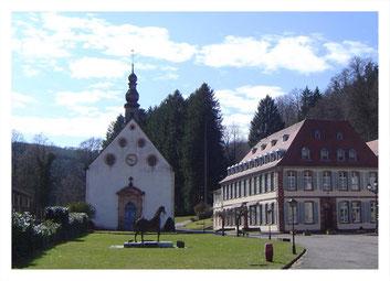 Eglise des Verriers - La Rose de Cristal - Lettenbach
