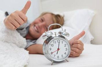 Langschläfer können sich freuen, am 29. Oktober schenkt die Zeitumstellung eine Stunde mehr Schlaf.  (Foto: WetterOnline)