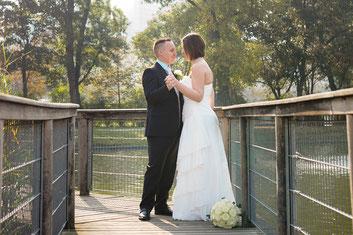 Hochzeitspaar Paar Foto Shooting Wien Donaupark
