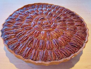 Recette tarte noix de pécan Lenôtre