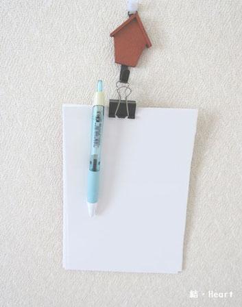 持ち運びできる メモ帳 ペン 収納