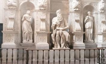 Моисей Микеланджело в Риме