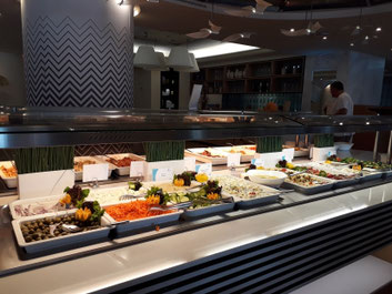 Buffet, Hauptrestaurant, Eden Roc, Rhodos