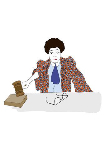 Le Jugement - Illustration de Laureline Branville et Pauline Brothier